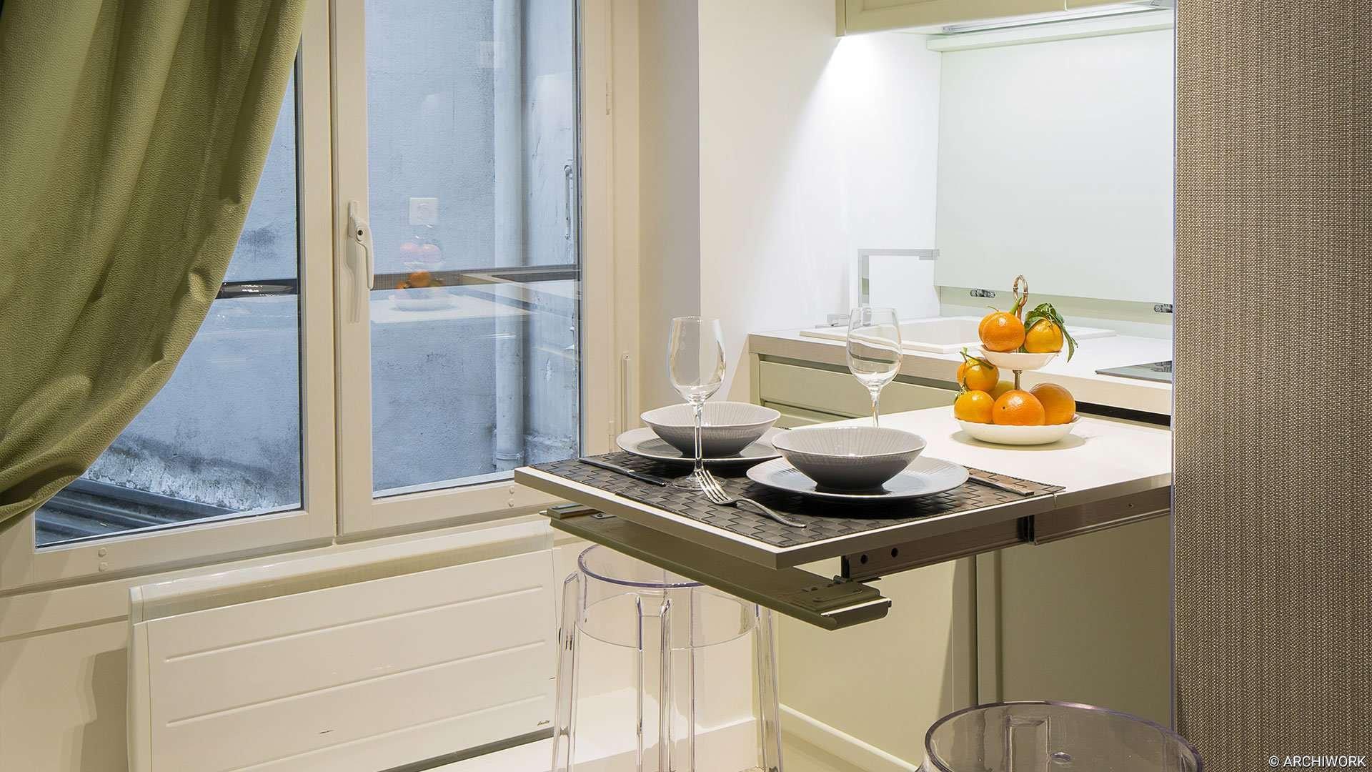 Cuisine - rue Greneta ARCHIWORK