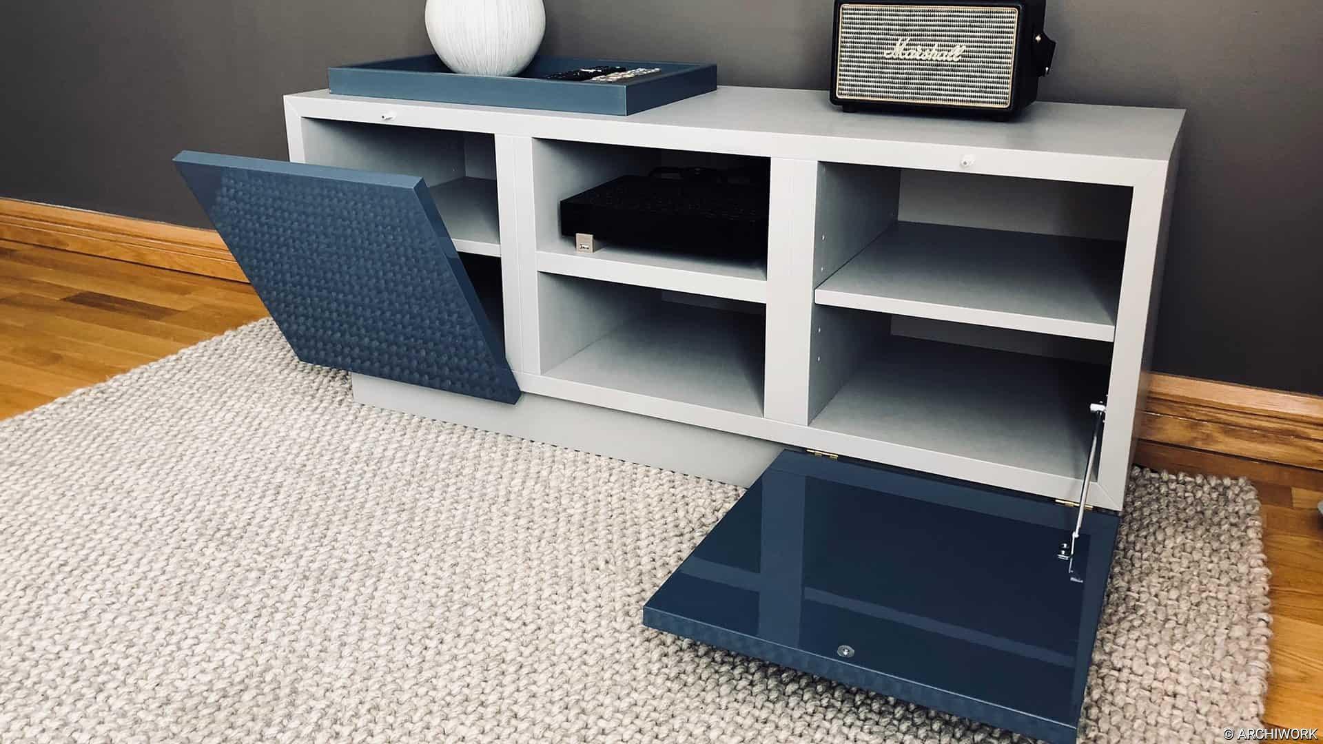 archiwork mobiliers sur mesure meuble tv meuble bas paris salon aménagements
